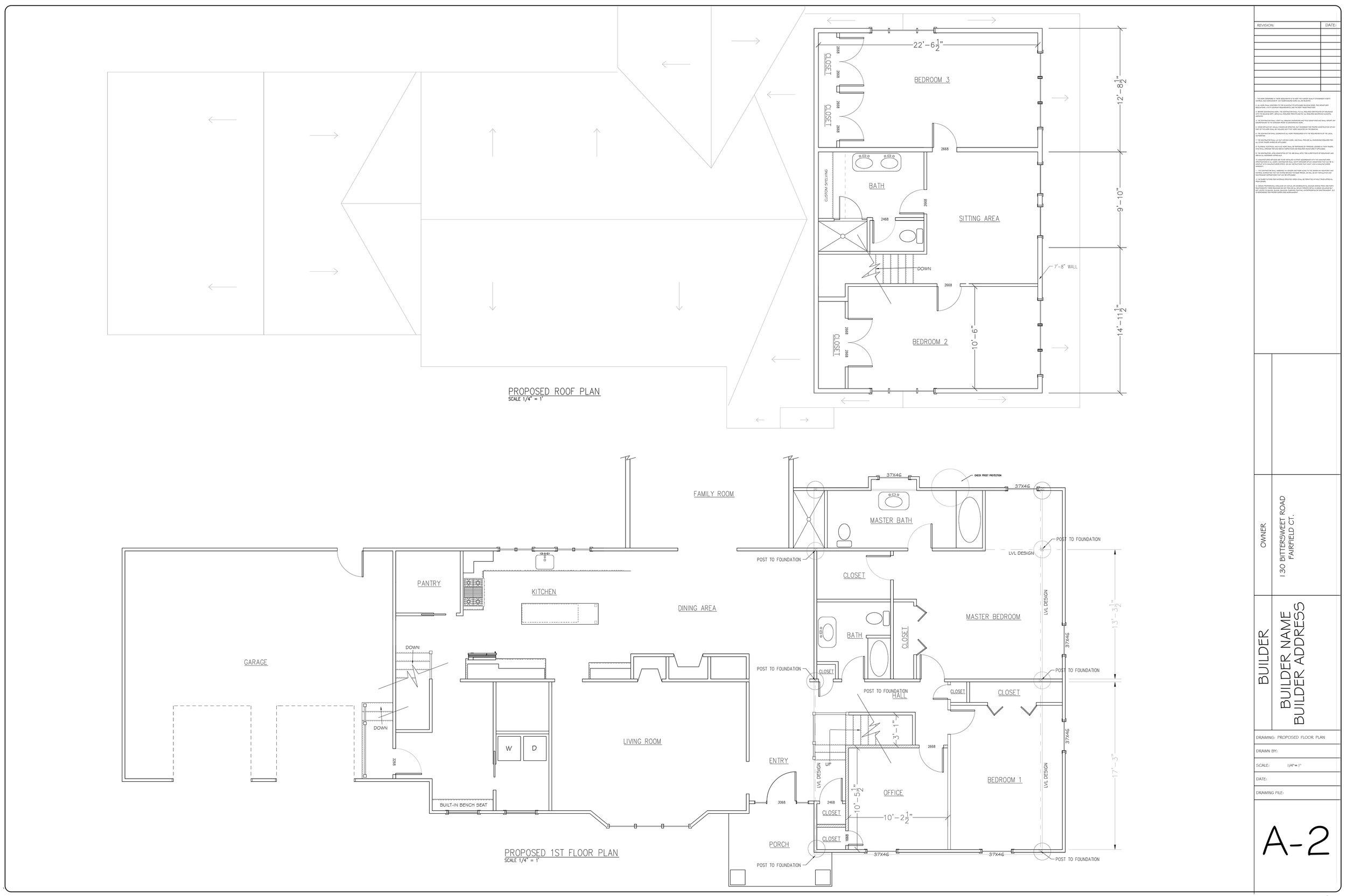 Acadia Design Plans