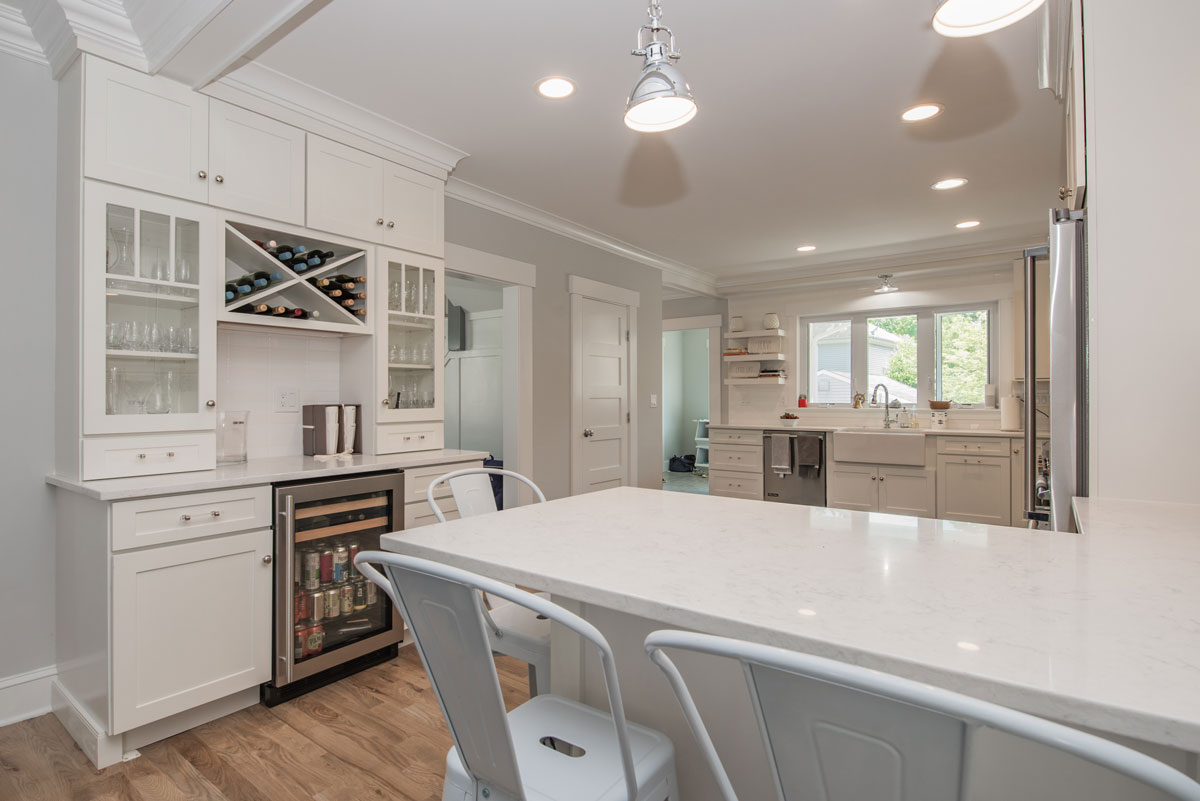 Home renovation in Fairfield, CT by Acadia