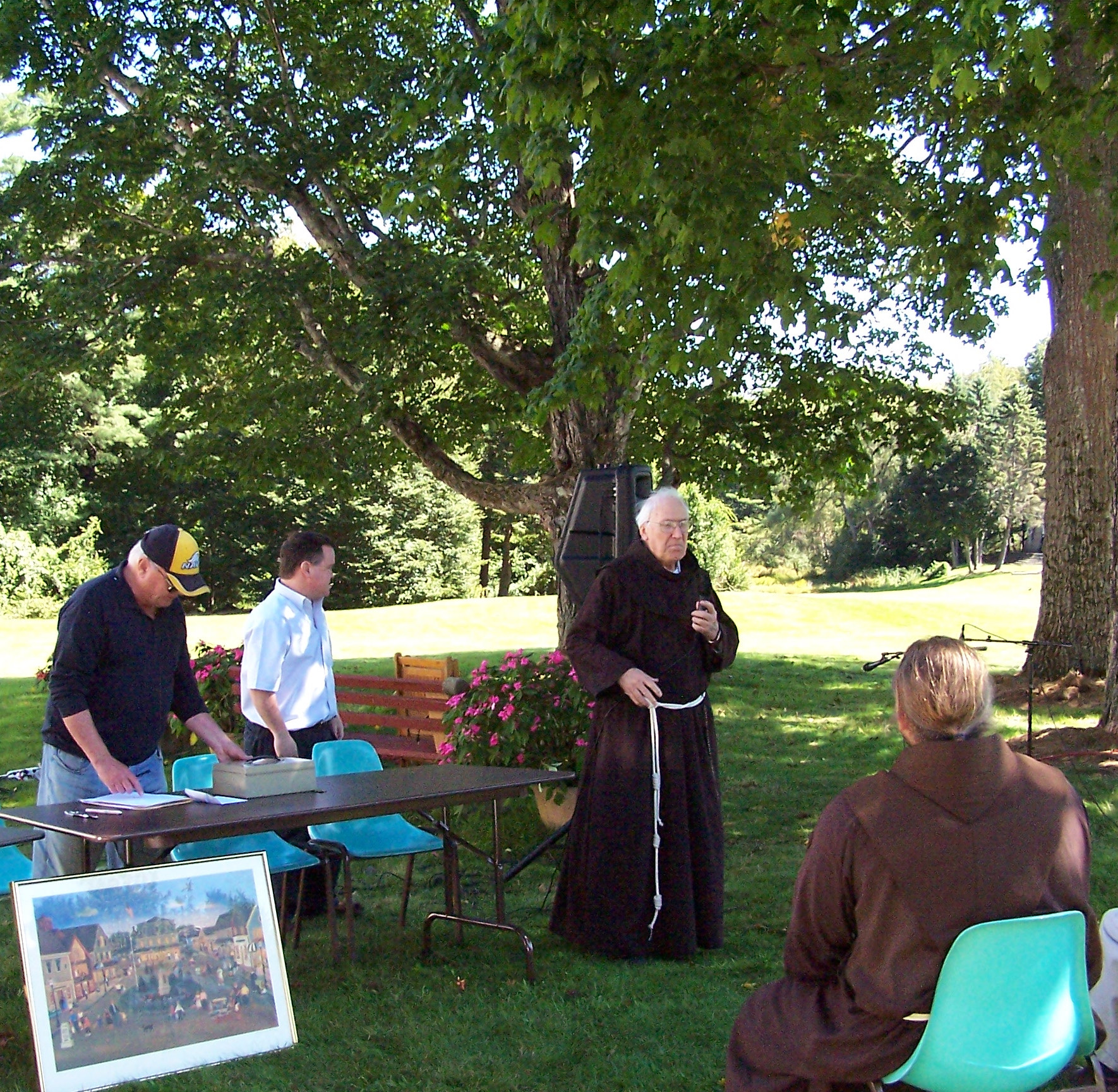 - LABOR DAY RAFFLE DRAWING & PICNIC WITH LIVE MUSICSunday September 1st, 2019The raffle tickets for the 18th Annual Summer Raffle are now available! To purchase tickets by mail, please fill out this FORM. Or tickets may be purchased after Mass on Sundays outside the Chapel entrance to St. Anthony's Monastery or at the Franciscan Guest House Monday through Friday 9 am to 5 pm. Payment by cash or check made out to the Franciscan Monastery. For more information see Events.