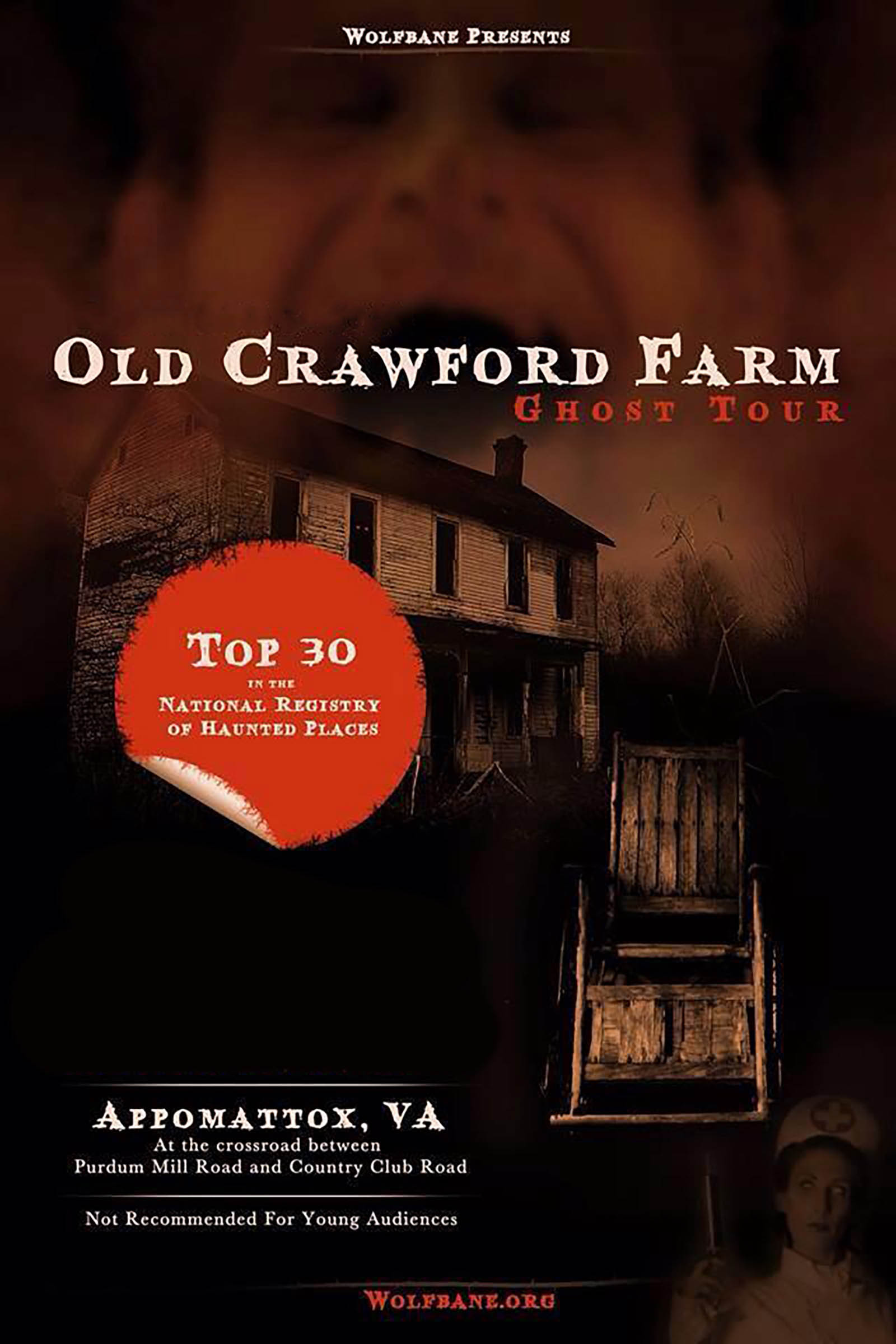 Crawford Farm Ghost Tour