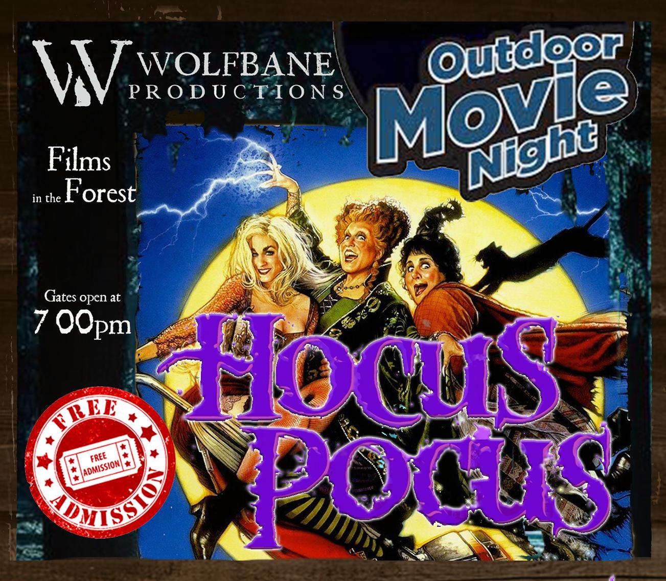 Hocus Pocus Movie Night