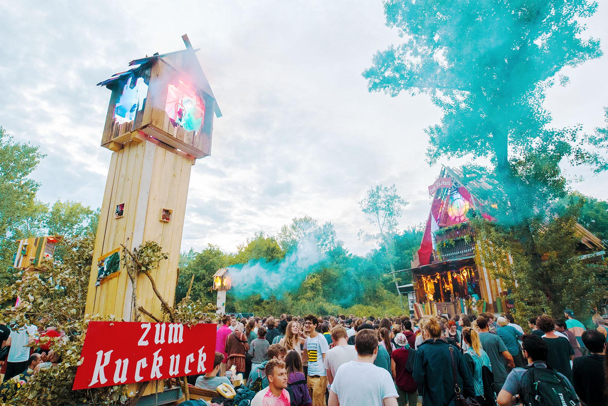 Aufwind Festival 2017 - Zum Kuckuck Stage - 30.6.-2.7. 2017