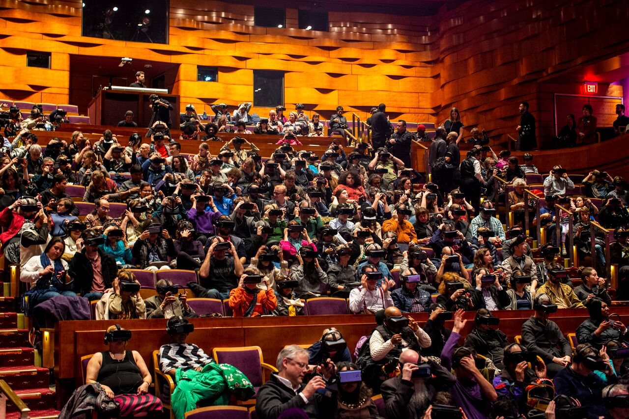 500 headsets at the Kennedy Center (2019)