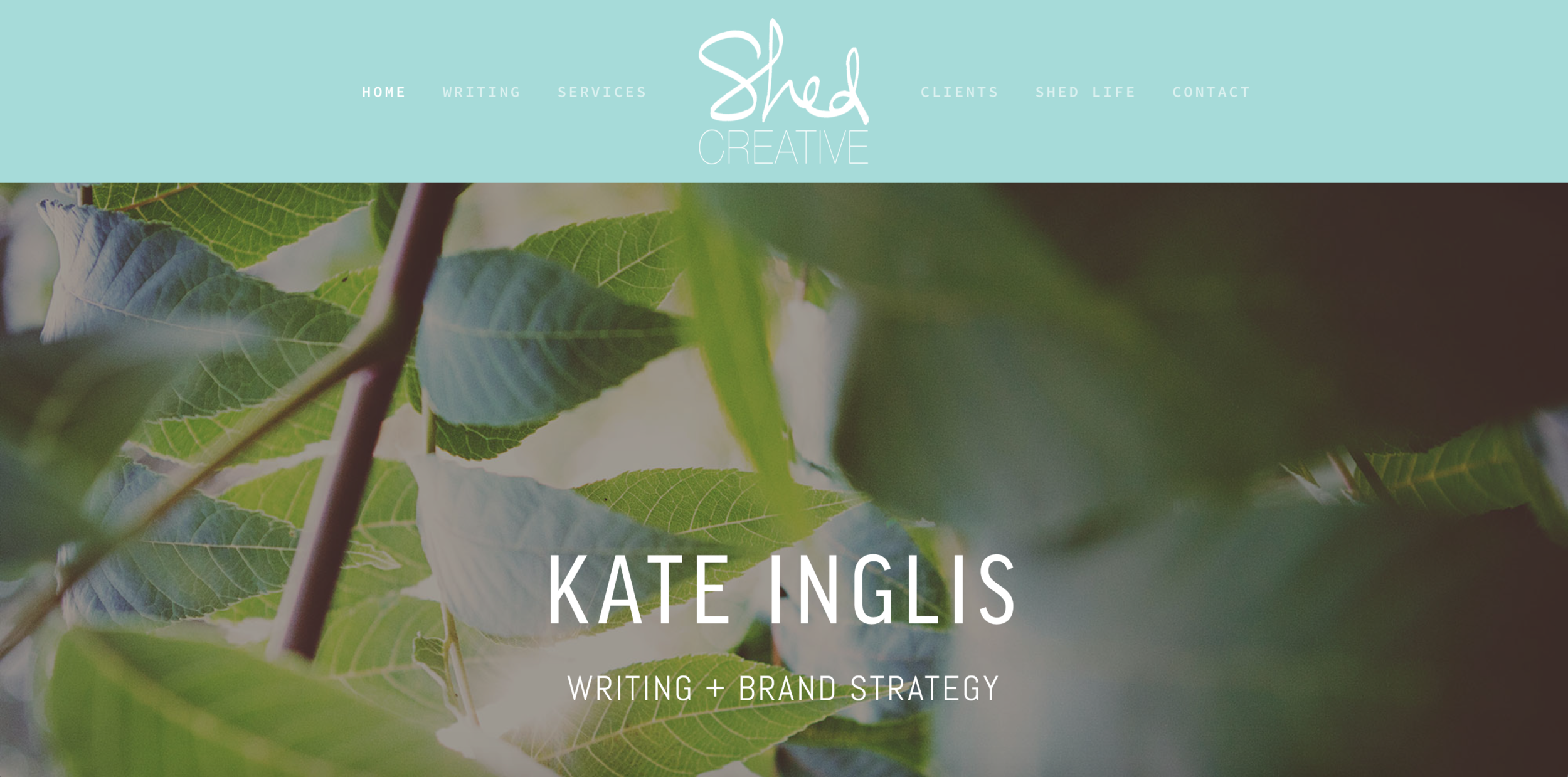 SHED Creative : brand storytelling