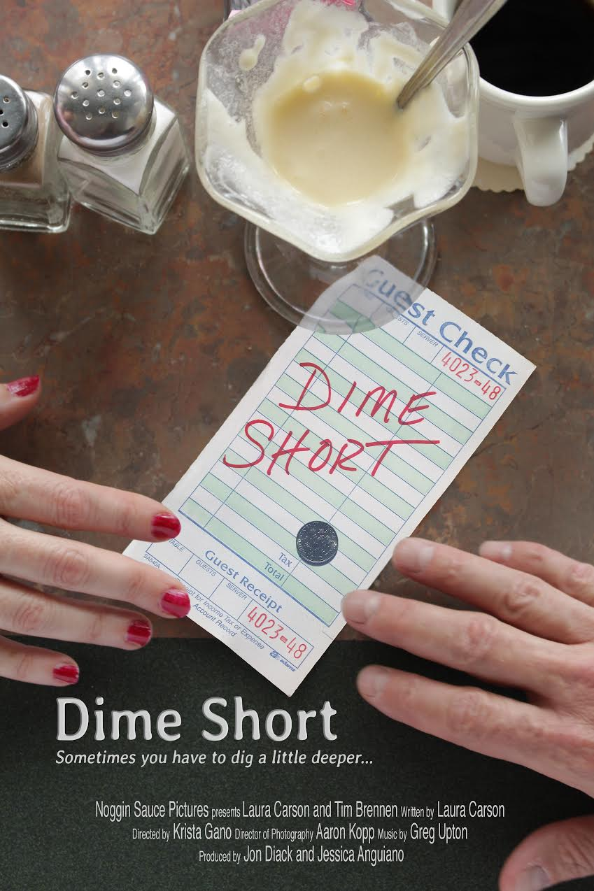 Dime Short, starring Tim Brennan & Laura Carson, is produced by Nogginsauce and will be making it's festival debut soon.