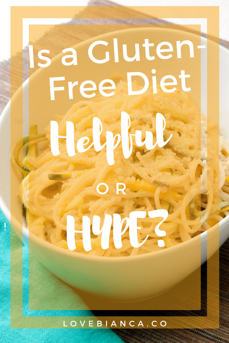 You can't go anywhere without seeing gluten-free products. What's all the hype? Is gluten bad? Read more to decide if a gluten-free diet is right for you.