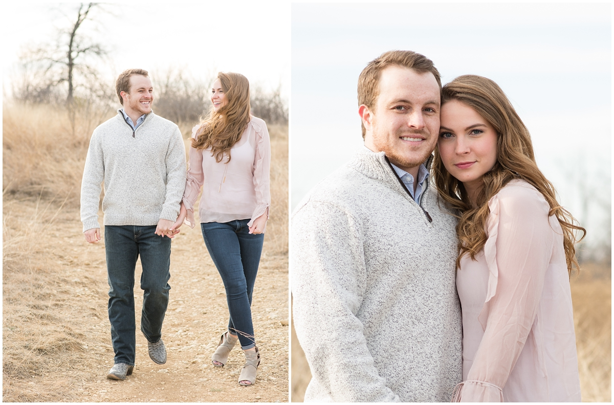 Fort Worth Texas Open Field Engagement Session