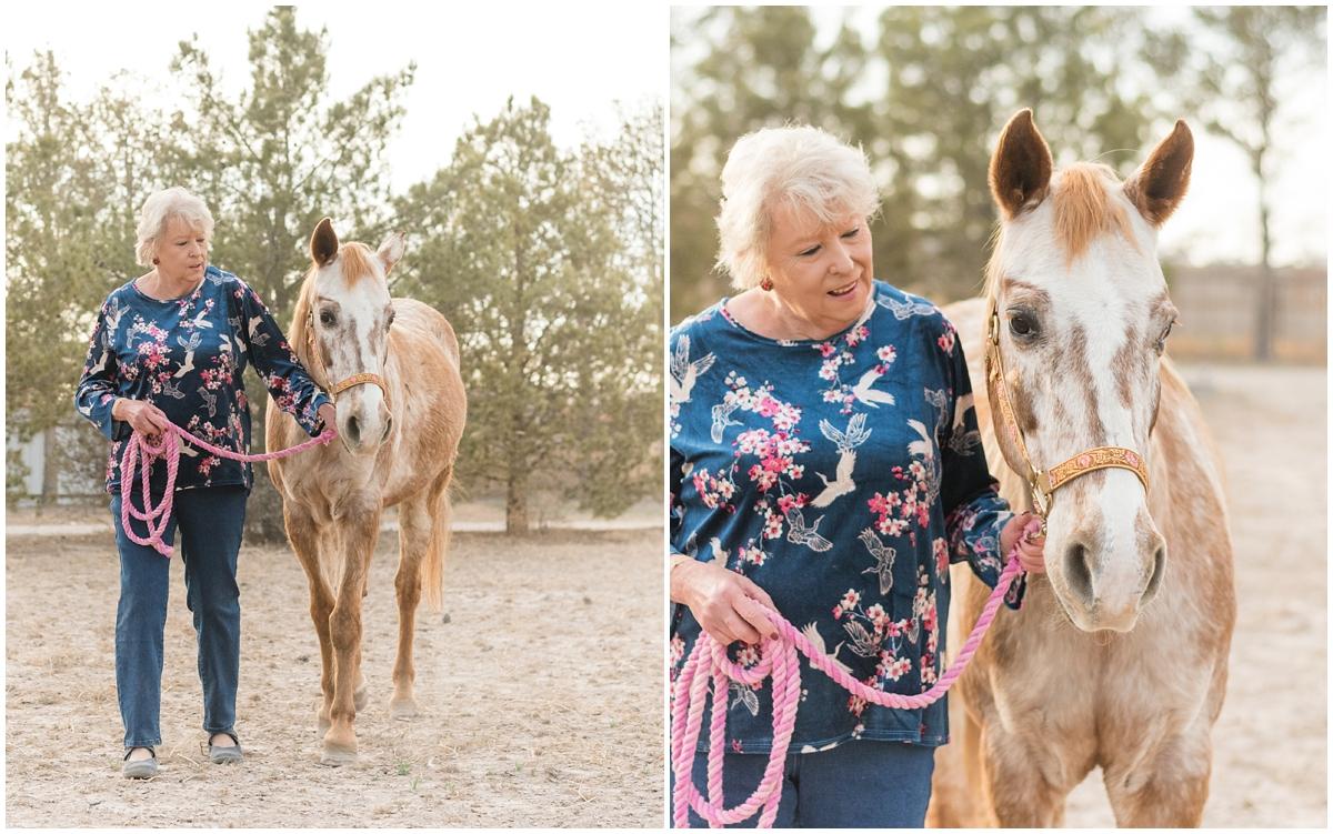 Midland Texas Family Equine Portrait Photography