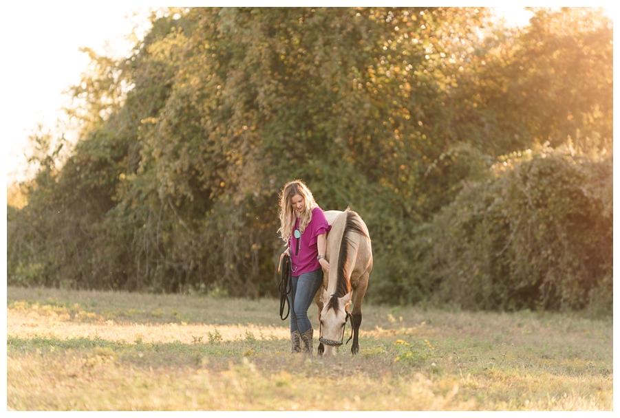Kristyn & RC | North Texas Equine Portrait Session | The Equestrian Center of Aurora Vista