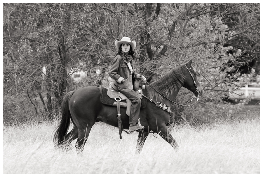Senior Session with Oklahoma Horse Photographer Rachel Griffin