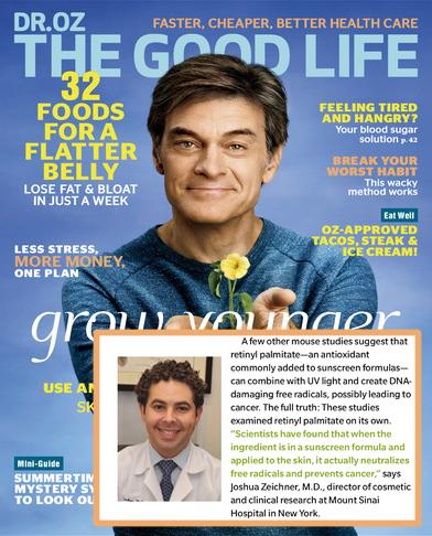 Dr Oz The Good Life 5/2017