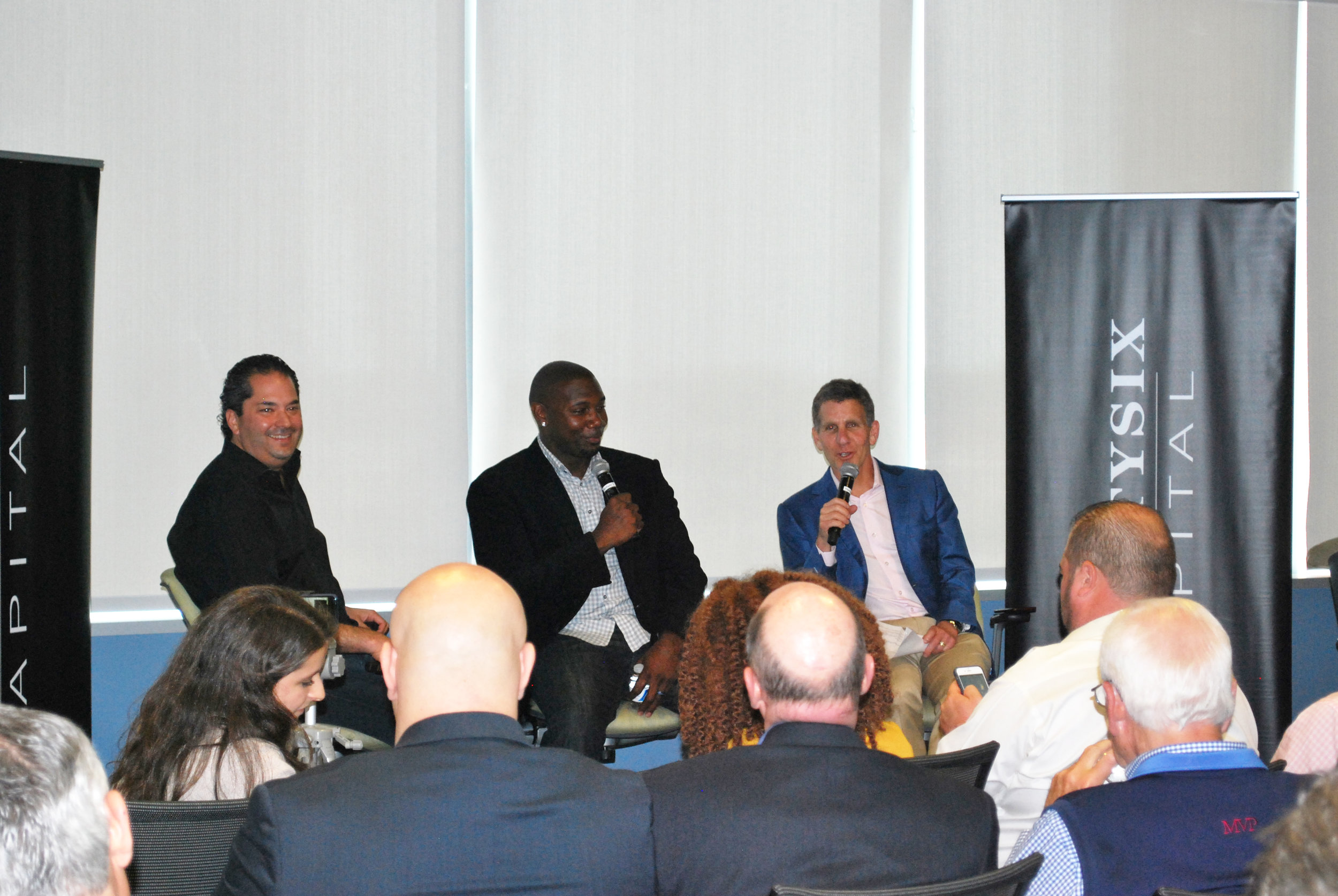 Wayne Kimmel, Ryan Howard, Andrew Brandt, Philadelphia