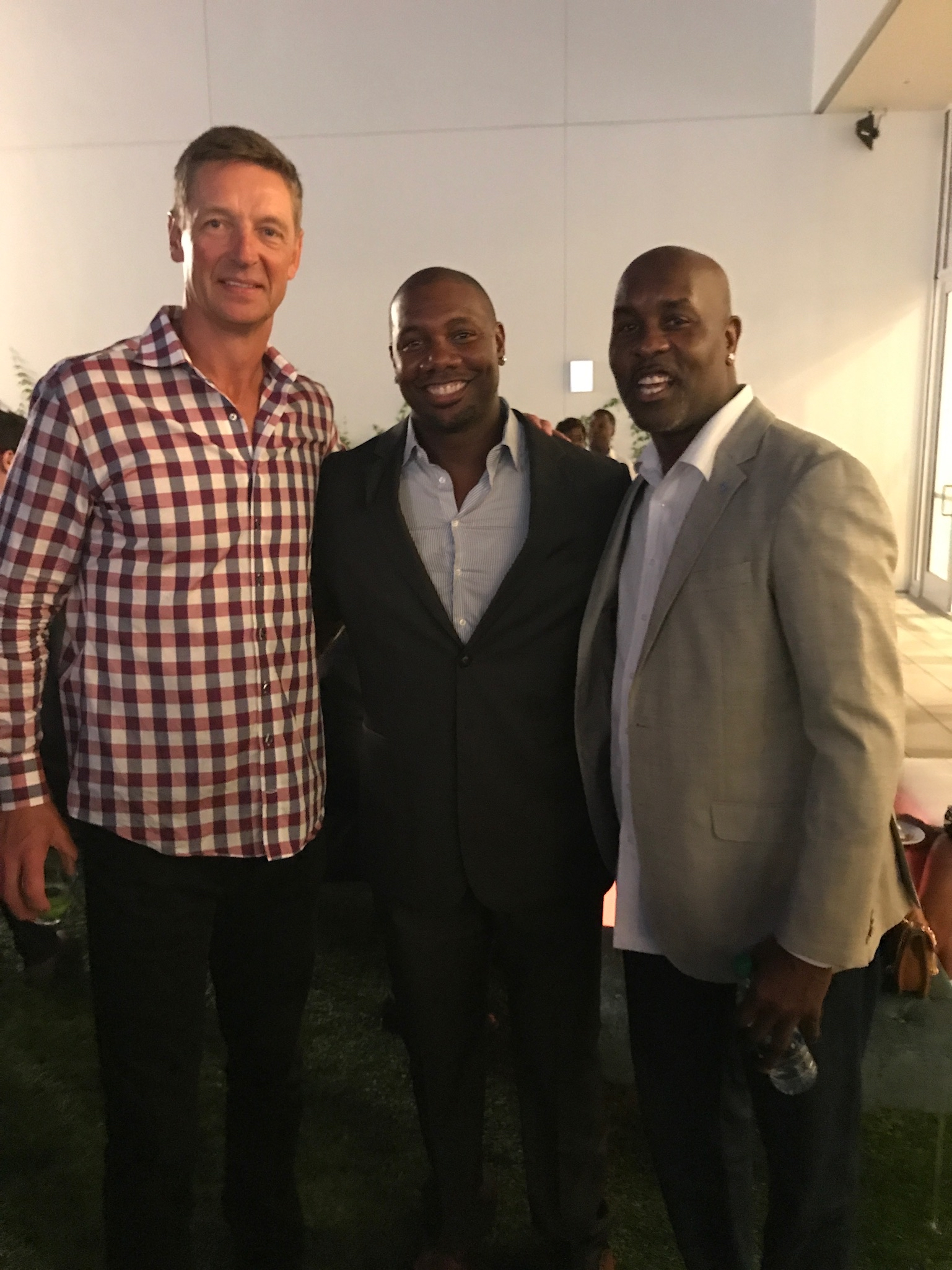Detlef Schrempf, Ryan Howard and Gary Payton