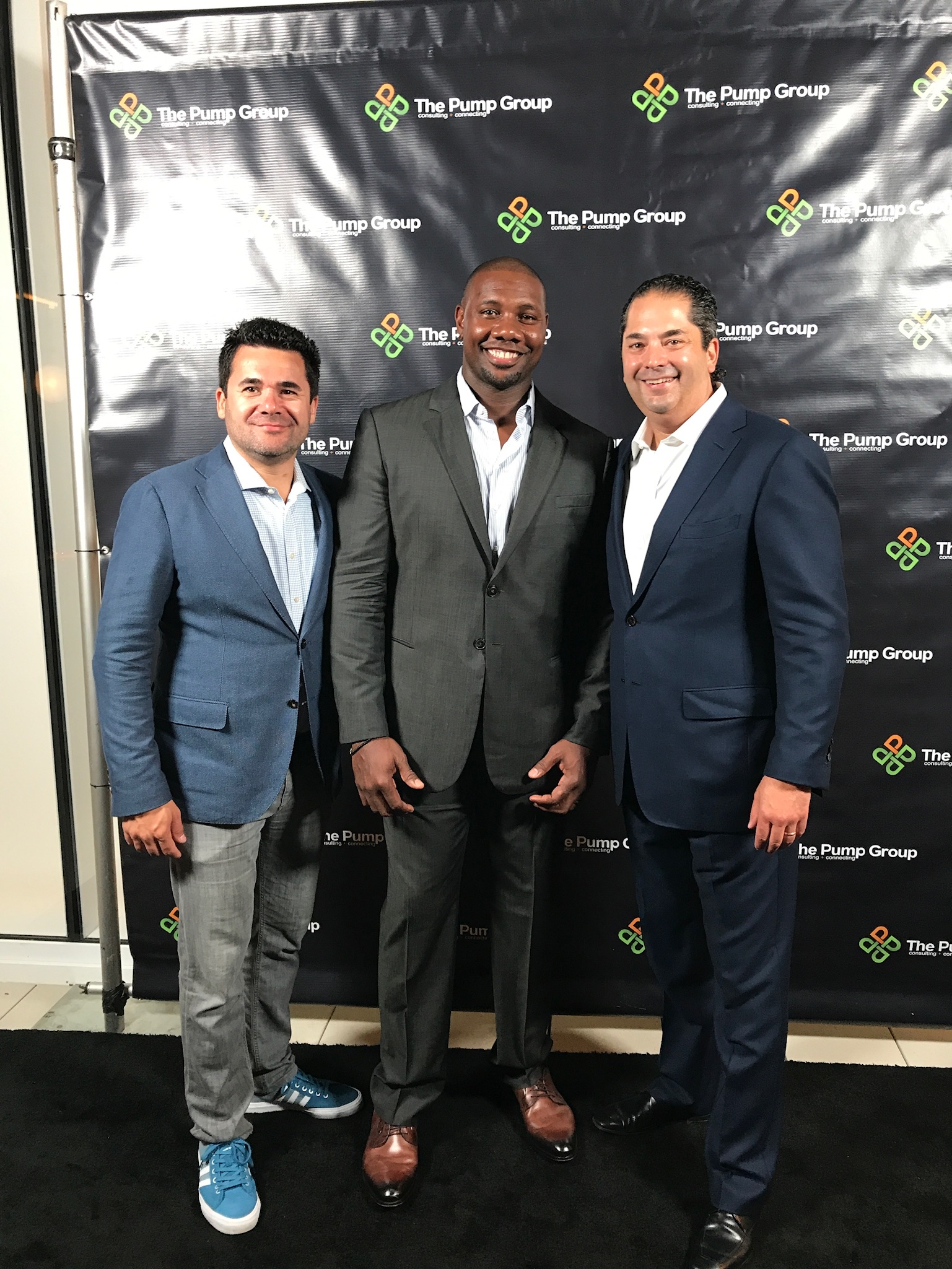 Dave Marlyes, Ryan Howard and Wayne Kimmel
