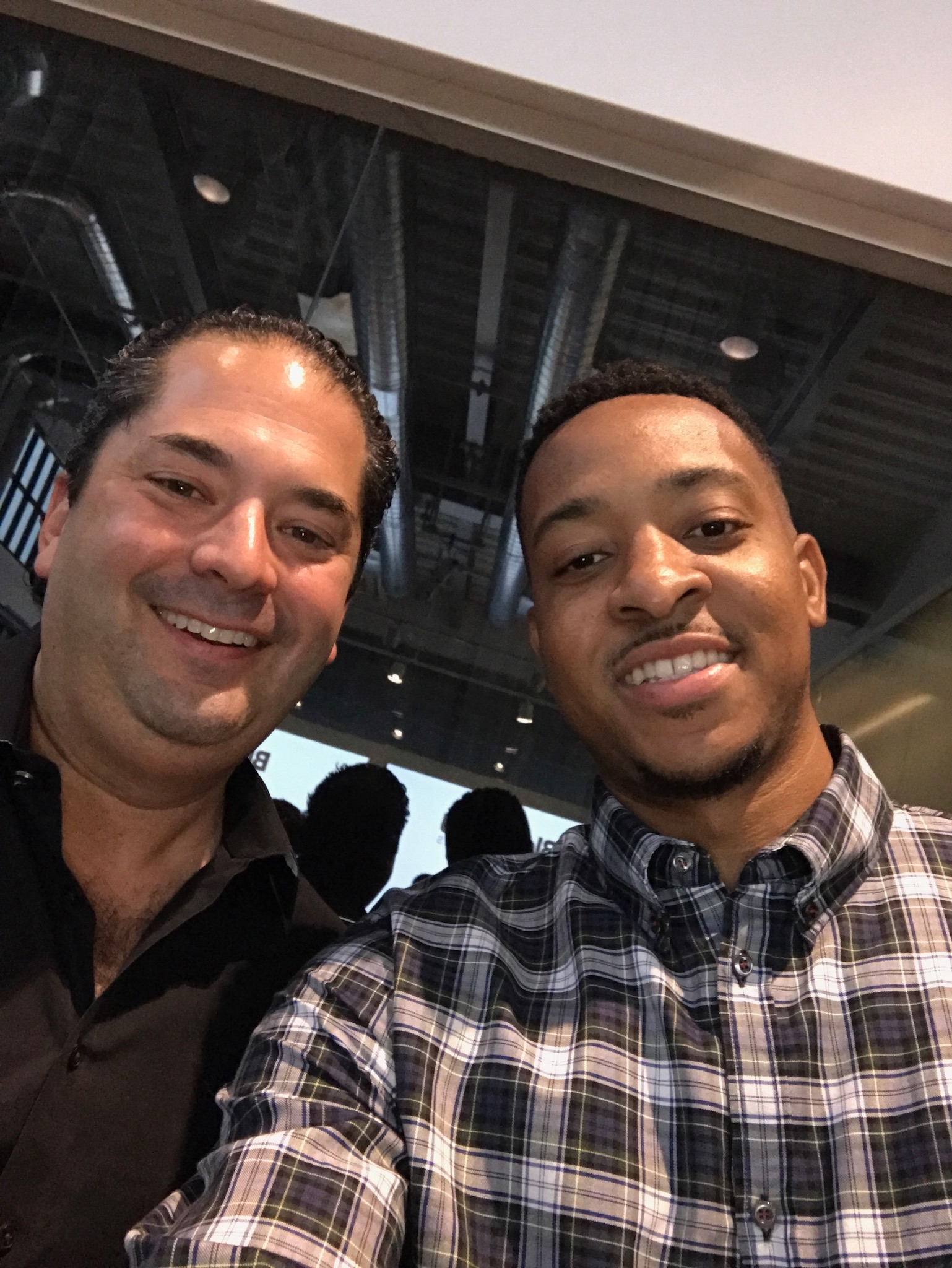 Wayne Kimmel and CJ McCollum