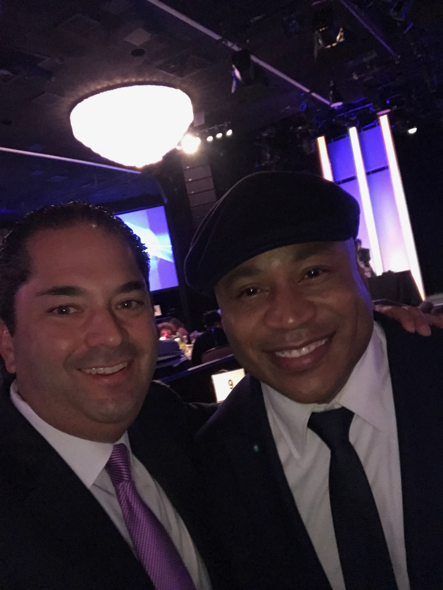 Wayne Kimmel and LL Cool J
