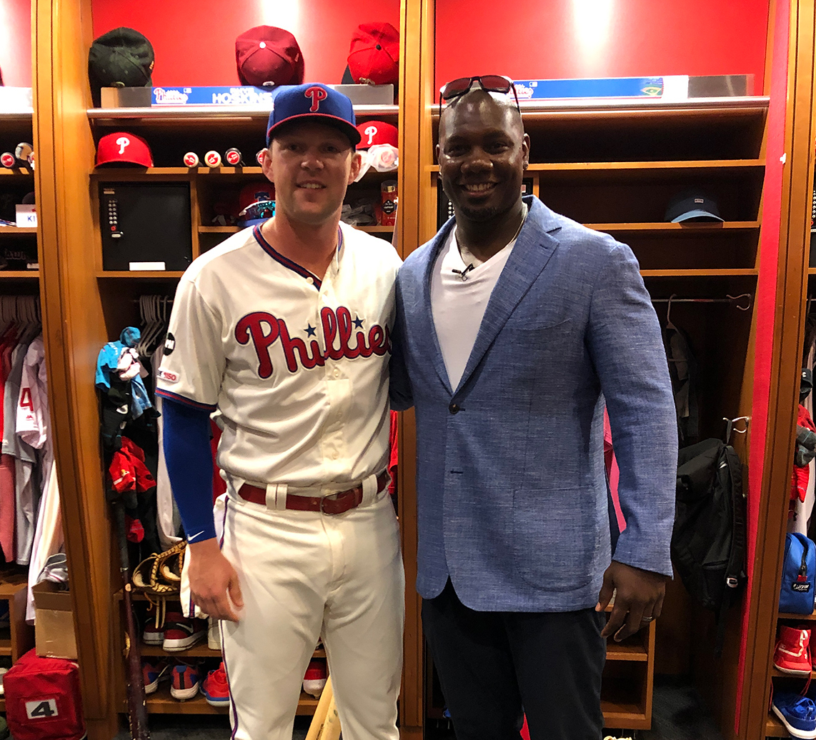 rhys hoskins & Ryan howard