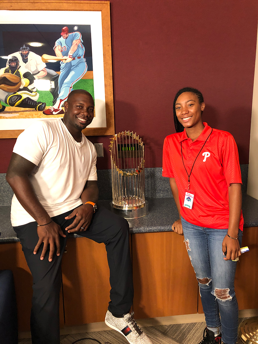 Ryan Howard & Mo'ne Davis