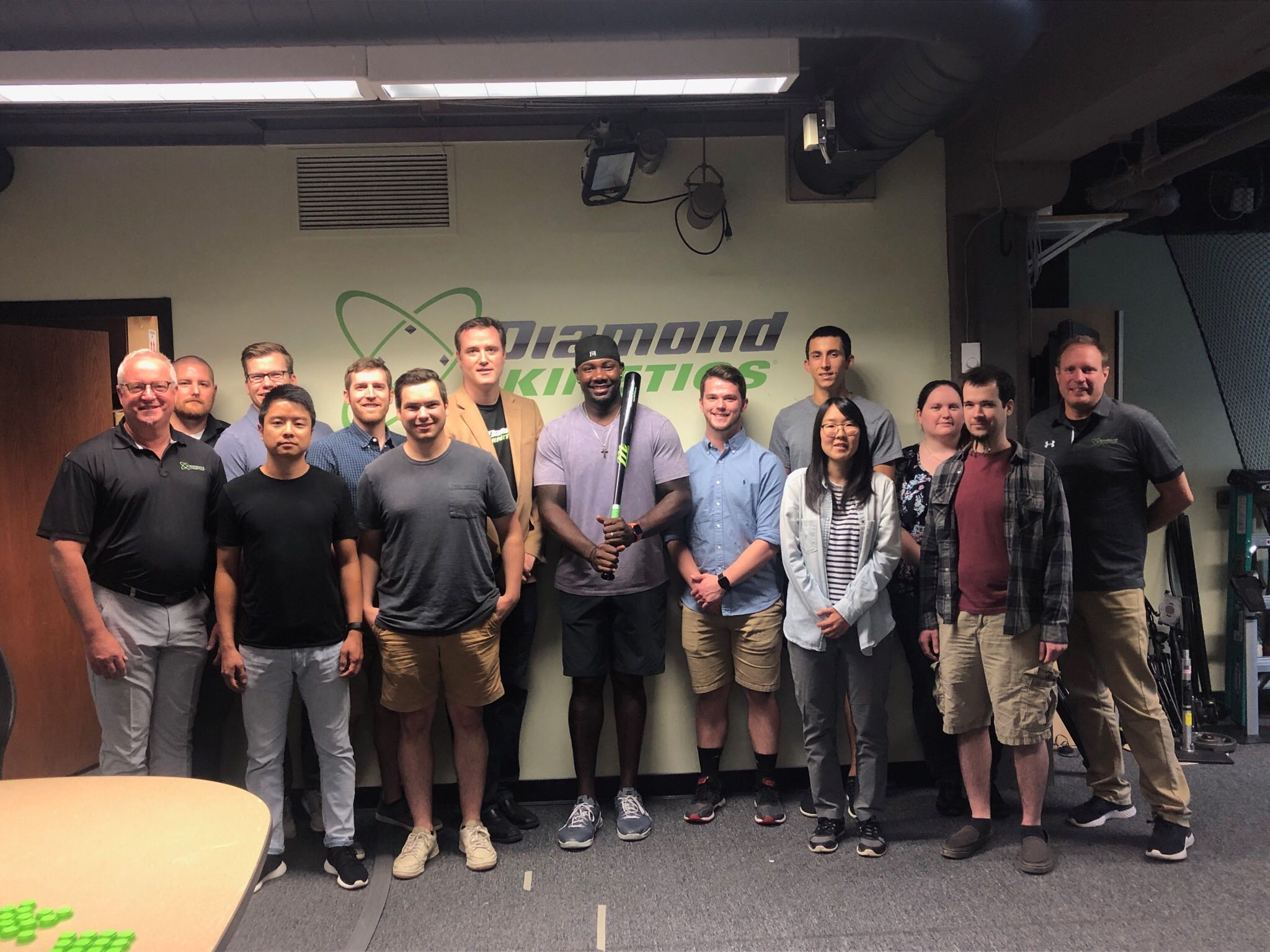 Ryan Howard and the DIamond Kinetics team in Pittsburgh, PA