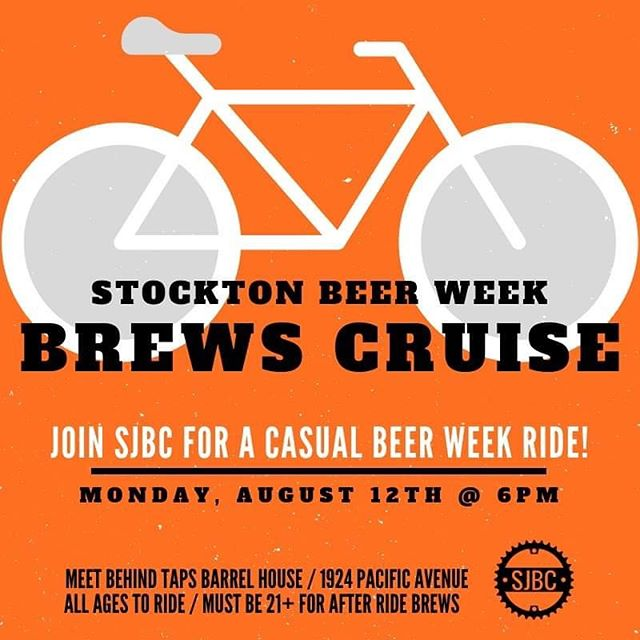 🍺 Special Rides Alert! 🍺  We have three fun ones coming up in addition to our usual weekly rides. * Monday: Beer Week Brews Cruise! Meet at 6pm at @tapsbarrelhouse. All bikes, slow roll. * Wednesday: Beer Week @empressocoffeehouse ride! Meet at College Square, 6pm.  Thursday: August Full Moon Ride! Meet at 6pm, Janet Leigh Plaza. * All rides are no-drop. Lights, helmets, and water recommended. Food and drink specials to follow for each!