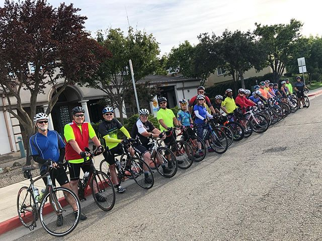 Beautiful day to our monthly LSD Ride to Galt! #roadbike #bikeride #bikelodi