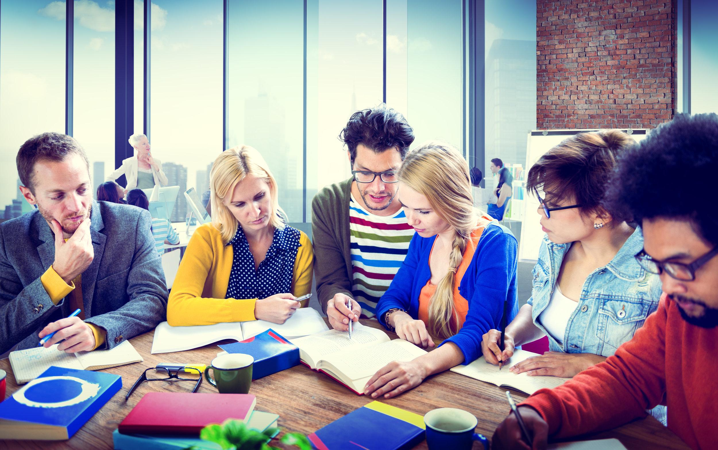 Study Group Learning University Communication