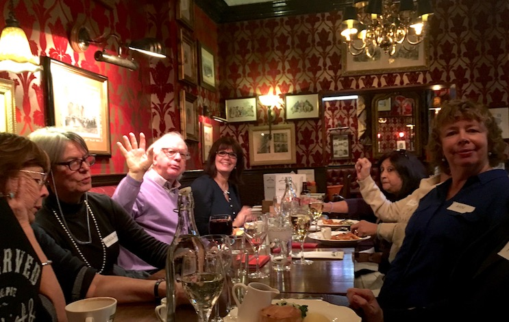 Pub lunch with hidden histories