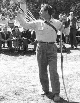 Howard Hill - perhaps the greatest archer of all-time.
