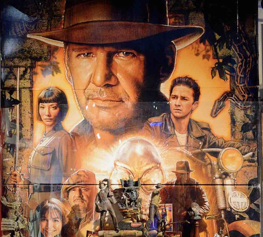 Harrison Ford Isn't indiana Jones - to be successful you need to assume the role.jpg