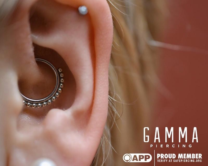 Daith Piercings And Migraines Gamma Piercing