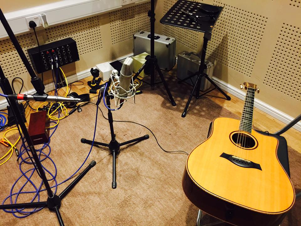 Session work at Mutant Lab Studios