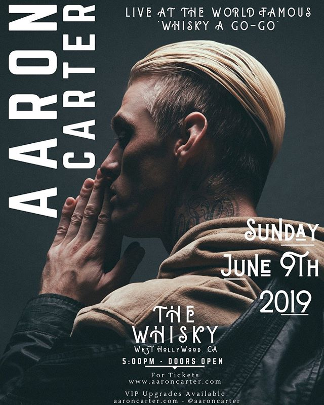 #LosAngeles you're up next!! THIS SUNDAY, June 9th I'm Performing Live at the @TheWhiskyAGoGo I Can't wait to see you all in LA - Ticket Link in my BIO 🖤