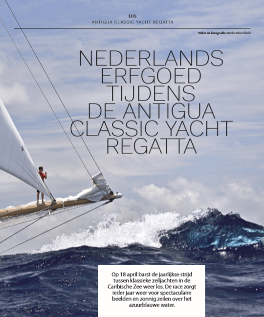 Antigua Classics Yacht Regatta Nautique magazine