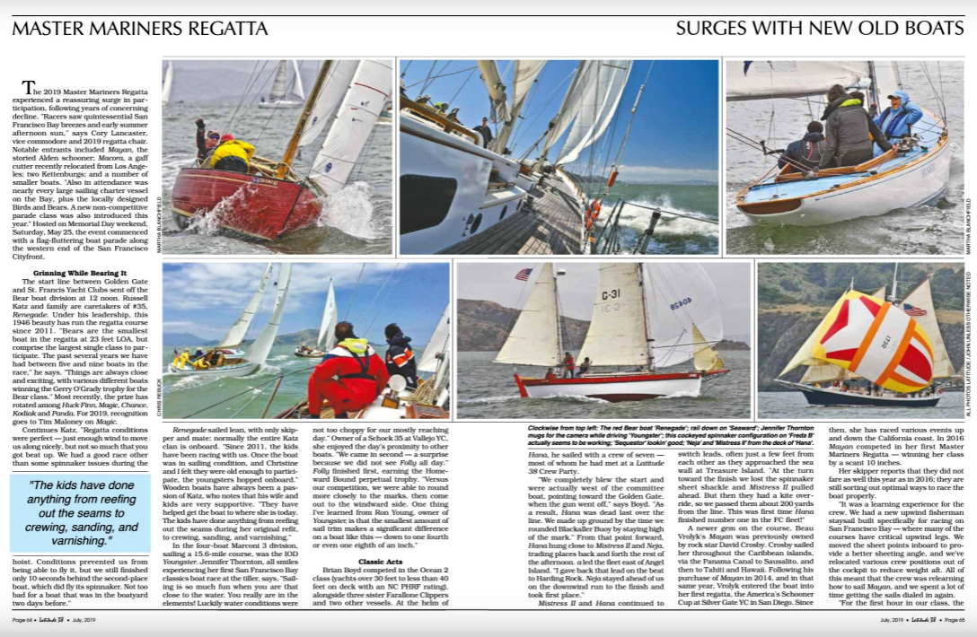 Latitude 38 magazine
