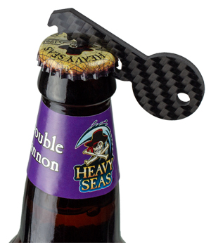 Your high-tech key to open a beer bottle.