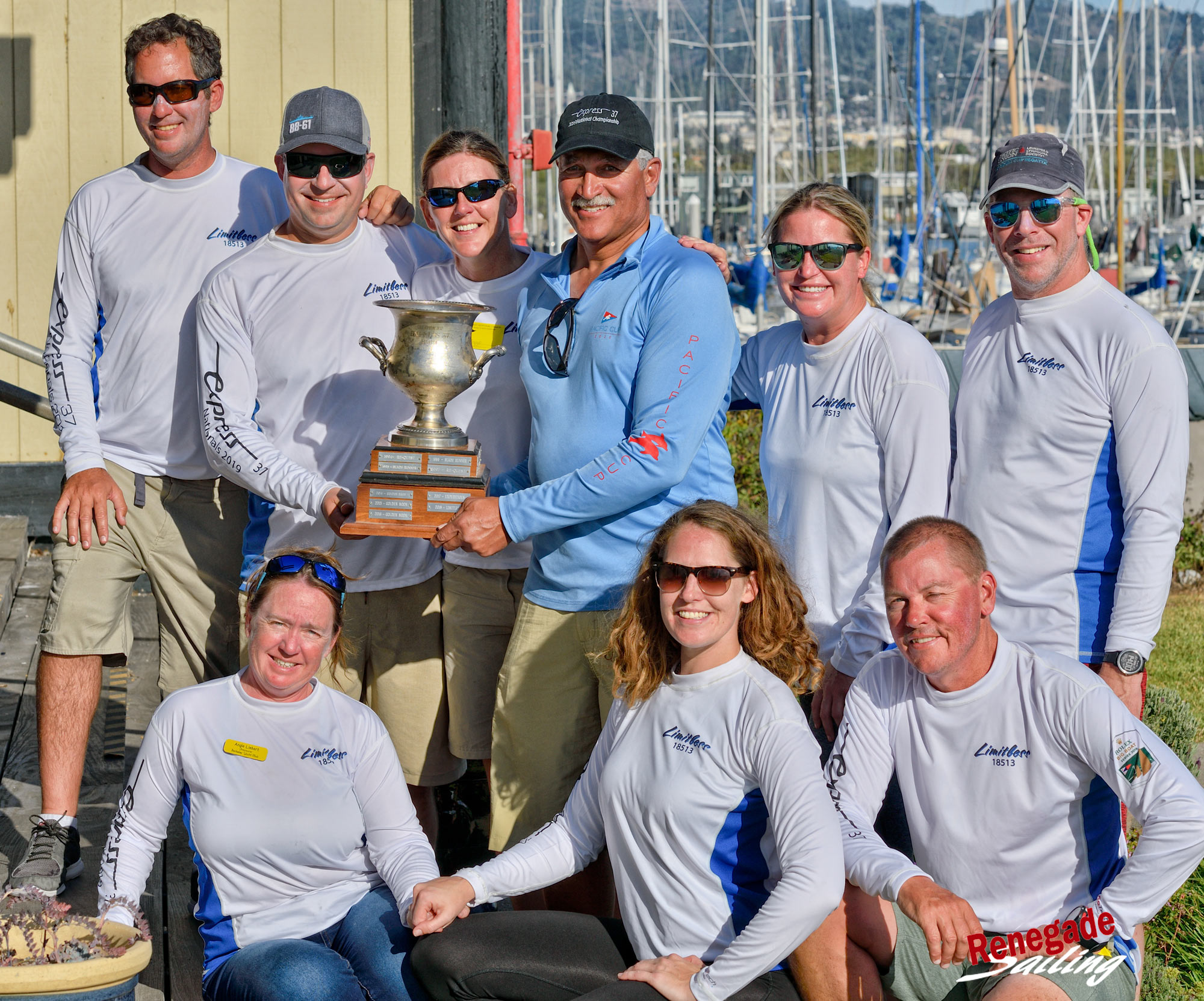 Express Nationals Champions - Shawn Ivie and crew of Limitless