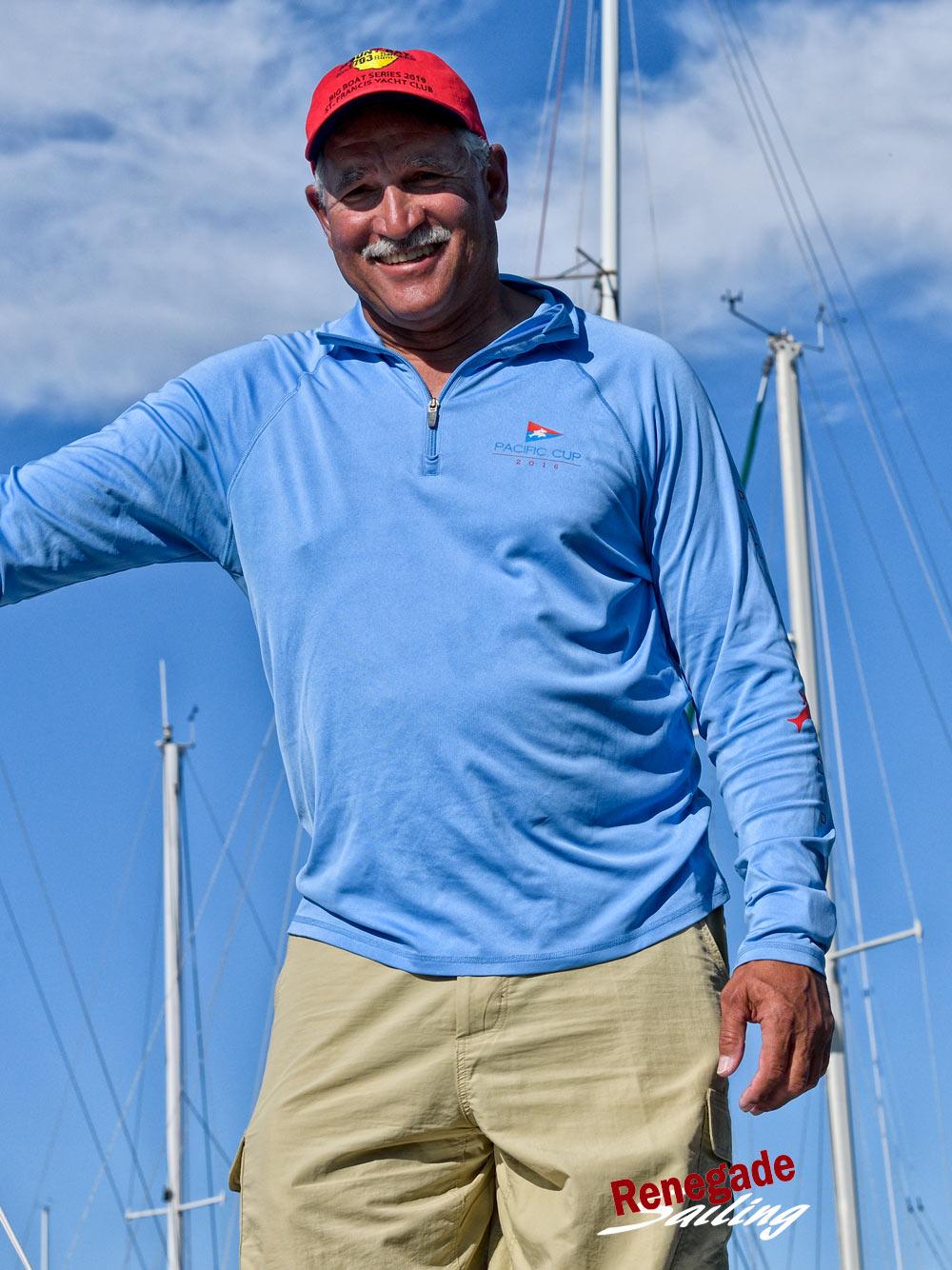 Winning skipper Shawn Ivie sailed  Limitless  to 2-1-1-1-4-1.