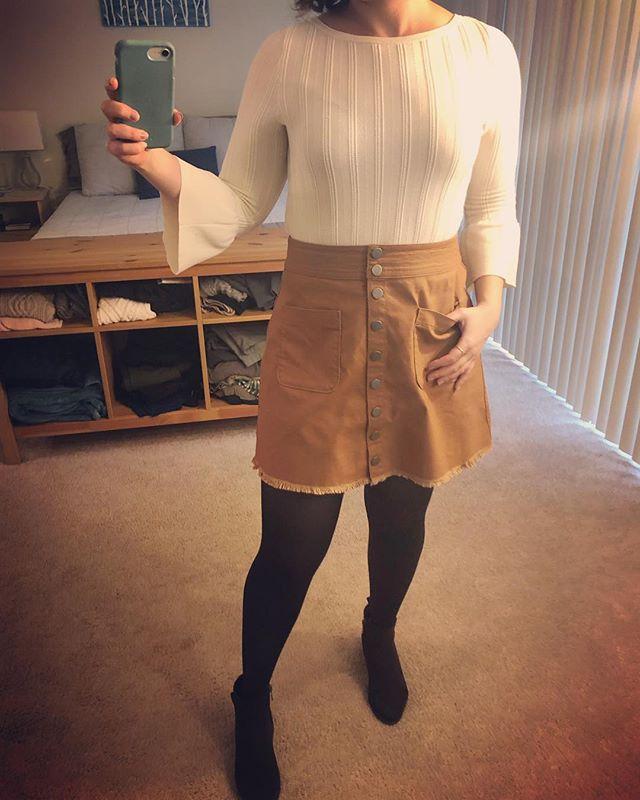 ☔️☔️ go away . #ootd #ootdfashion #miniskirt #madewell #sweaterweather #bootieseason