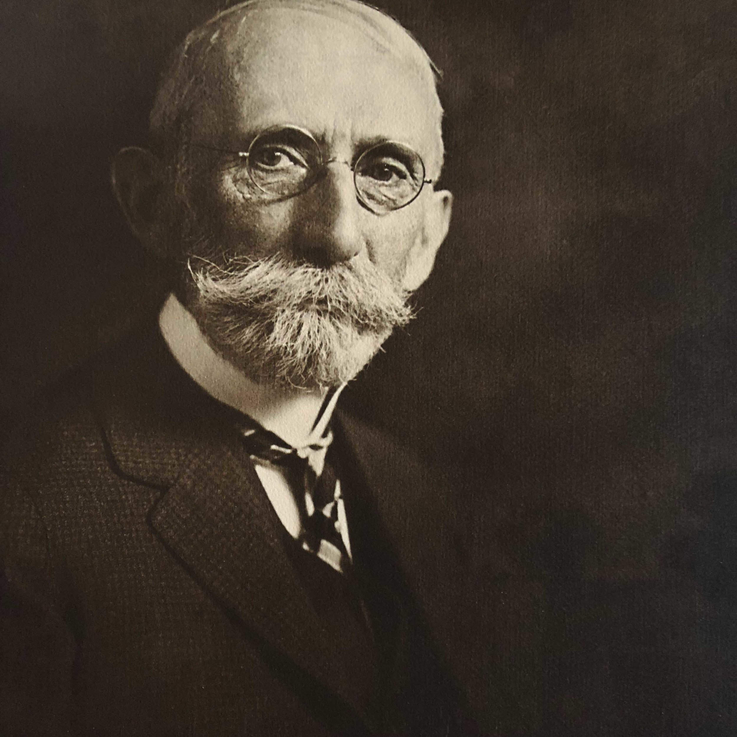 An undated portrait of James Bull