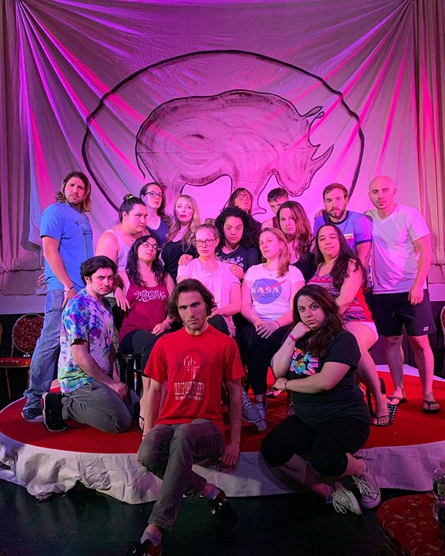 Rhino Retreat was Serious and then we had fun. . . . . . #improv #comedy #hudsonvalley #classes #training #photography #art #suffern #comedians #theatre #theater #acting #actors #rockland