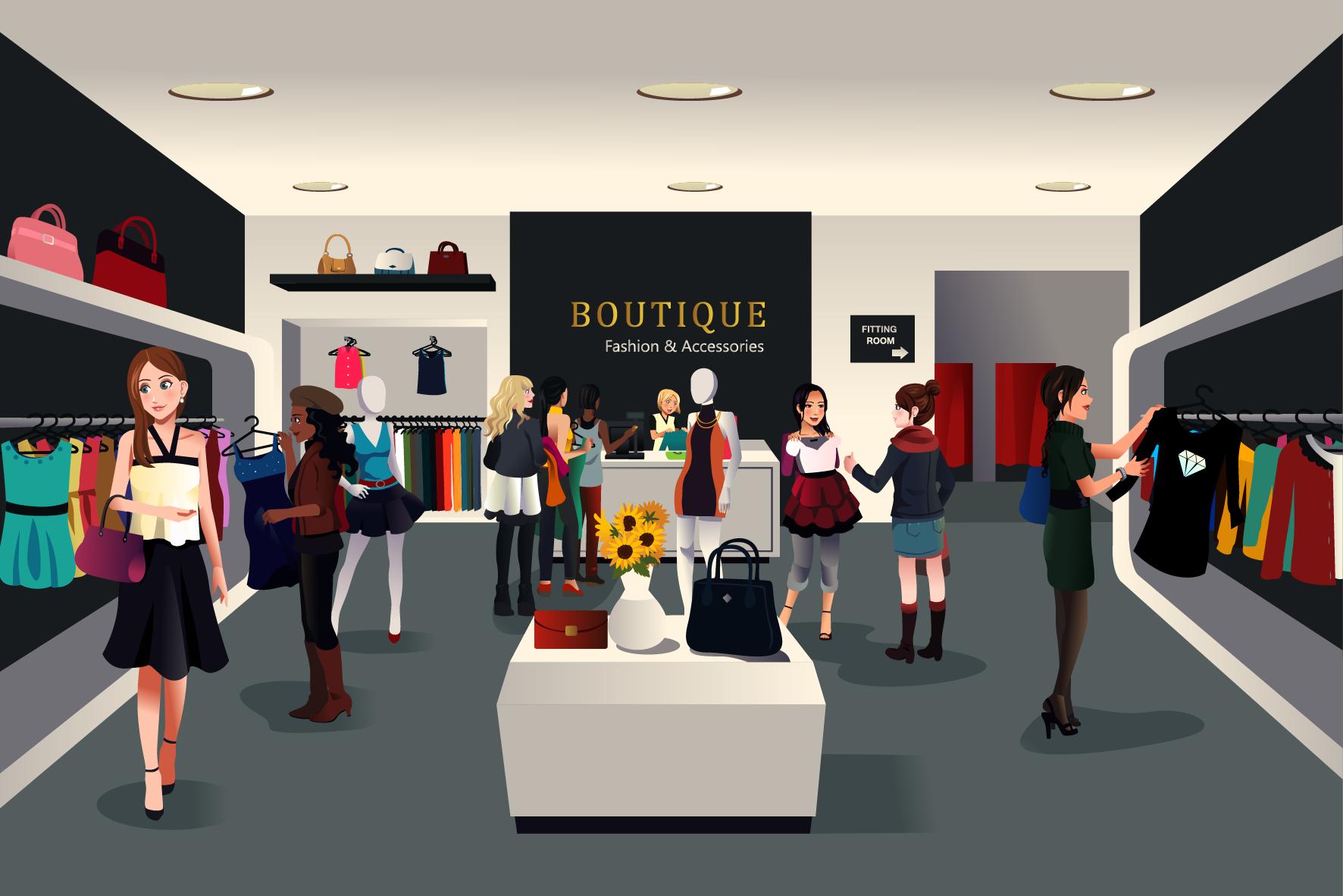 Boutique Shopping