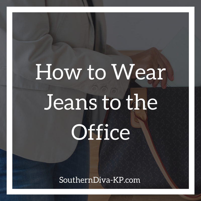 How to Wear Jeans to the Office IG
