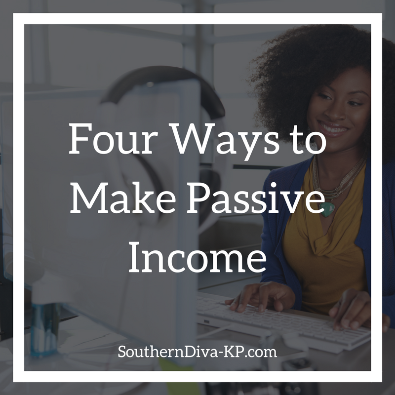 Four Ways to Make Passive Income IG