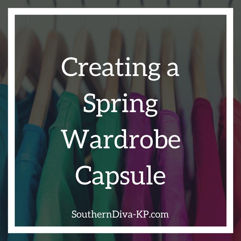 Creating a Spring Capsule Wardrobe