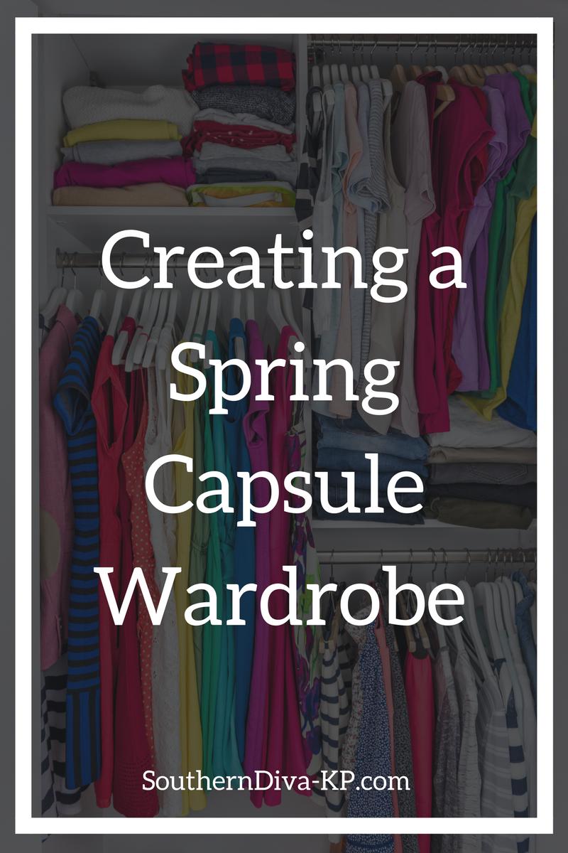 Creating a Spring Wardrobe Capsule
