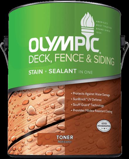 Deck, Fence & Siding Stain Toner