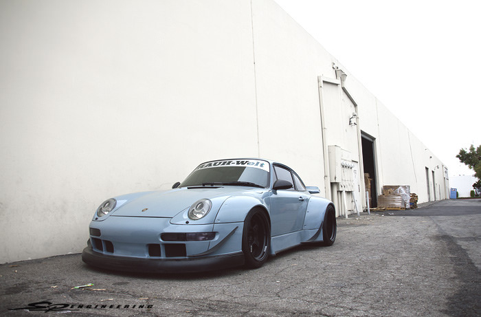 Our first hands on an RWB built Porsche by Nakai-San...  Okay maybe all we did was dismount and mount new tires.  But still, it was a cool experience to have an RWB vehicle here at SP Engineering.