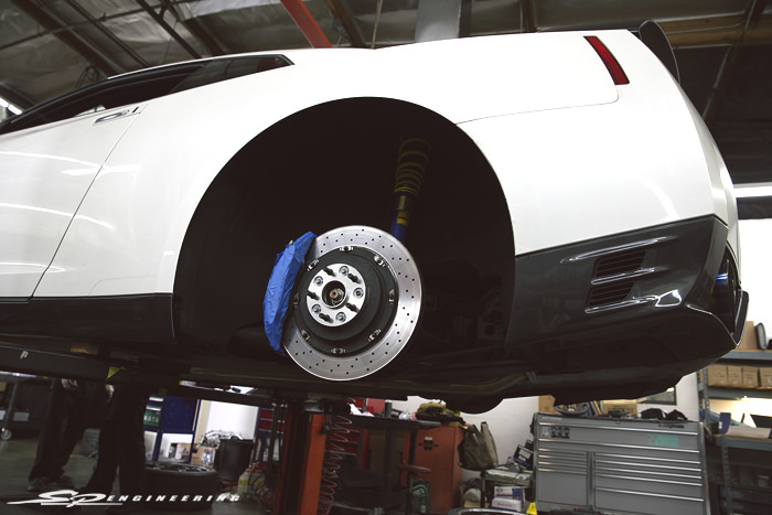 """When initiating the first mod on a GT-R, most choose to add a midpipe (maybe). Tent said """"Ain't nobody got time for that"""" and got his calipers painted instead along with purchasing a set of 15mm/20mm spacers."""