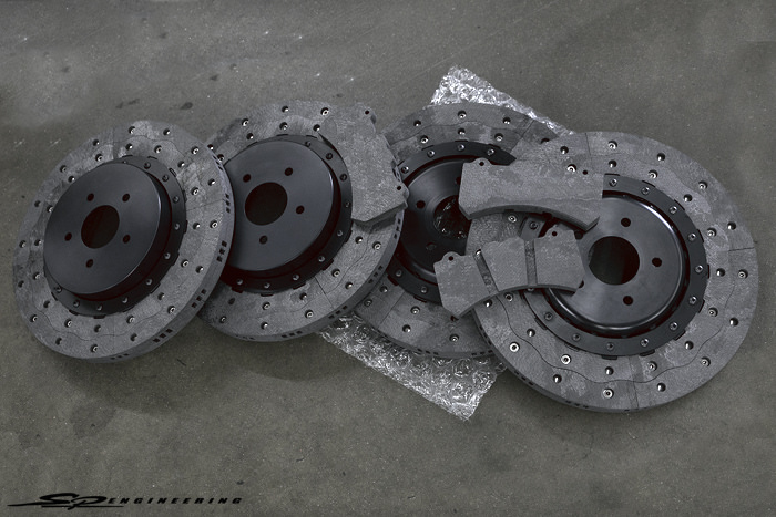RPS specializes in real carbon-carbon material brake rotors and pads. While others are out there making the infamous carbon-ceramic material that everyone lusts over, RPS opted for making real carbon-carbon. Carbon-carbon can be seen used in F1, Le Mans and Top Fuel/Funny Car drag racing.
