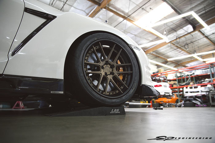 A quick photo recap of John's new ADV6.0 Track Spec SL wheels.